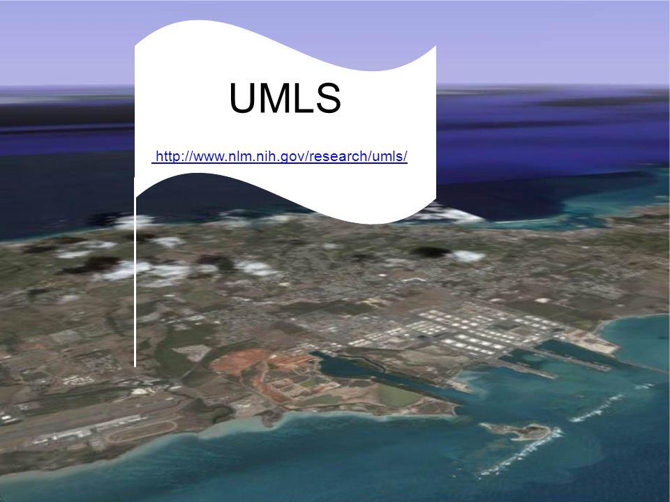 MeSH: Medical Subject Headings UMLS http://www.nlm.nih.gov/research/umls/ http://www.nlm.nih.gov/research/umls/