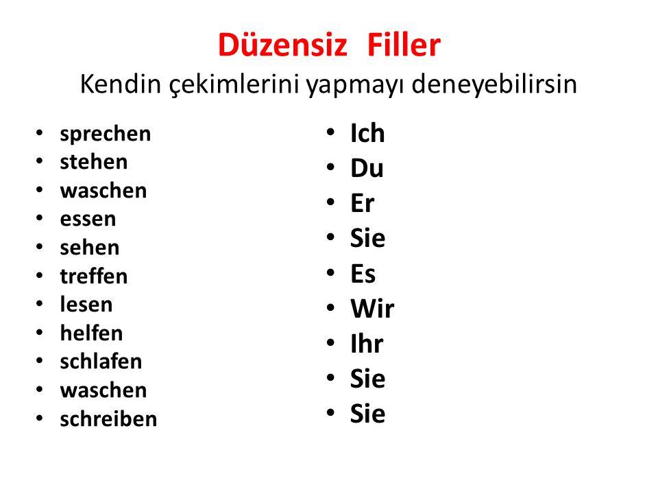 Ayrılabilen Fiiller / Trennbare Verben Ayrılabilen fiiller adlarının da belirtiği gibi fiillin ayrılması ile gerçekleşir.