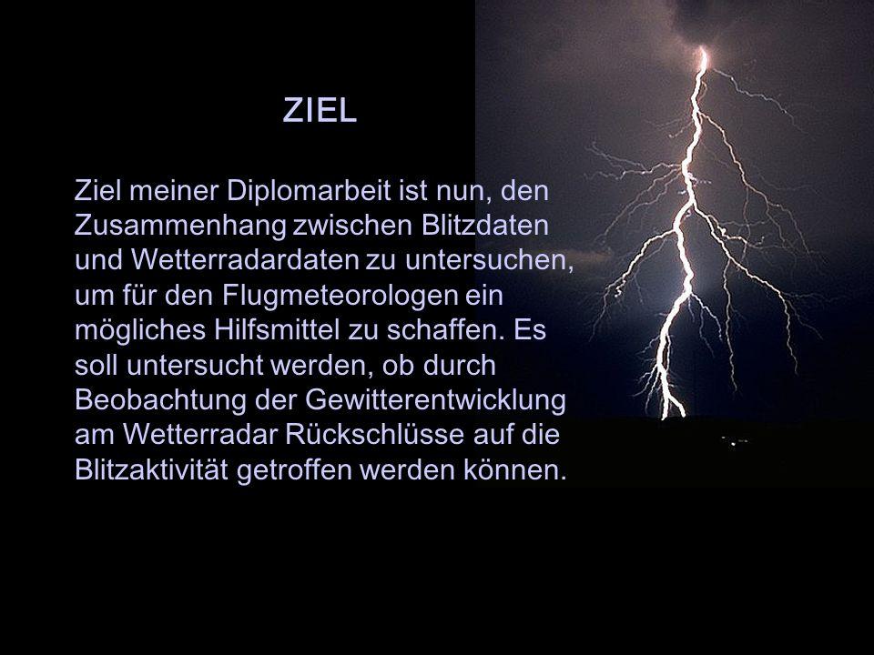 WXR Zeitl. Auflösung des österr. Wetterradars: 5 Minuten