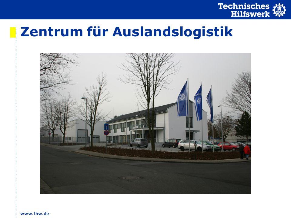 Zentrum für Auslandslogistik