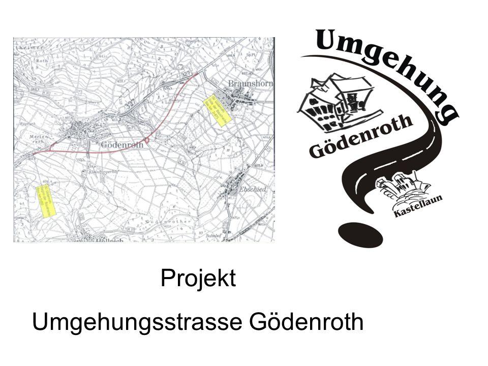 Projekt Umgehungsstrasse Gödenroth