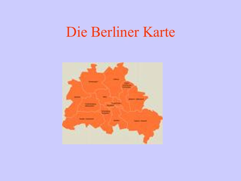Die Berliner Karte