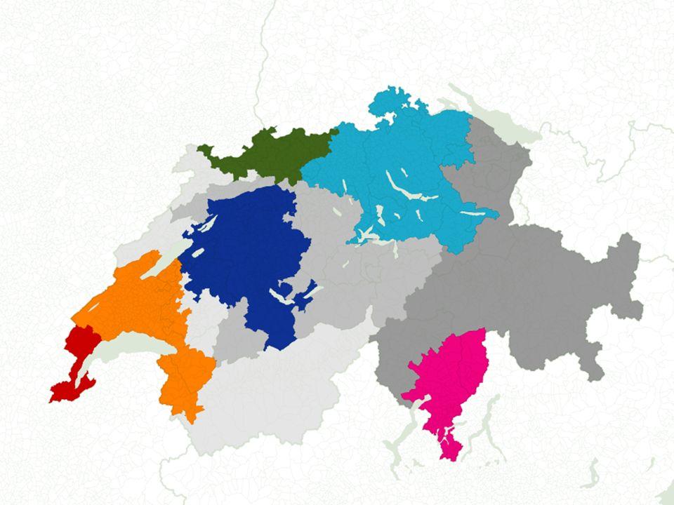 TH/11.2.2010 IG Luftverkehr Basel Anteil am gesamten BIP der Schweiz MR Zürich:38% MR Bern:14% MR Basel:12% MR Genf:9% MR Lausanne:8% MR Tessin:4% Total MR:84% 10