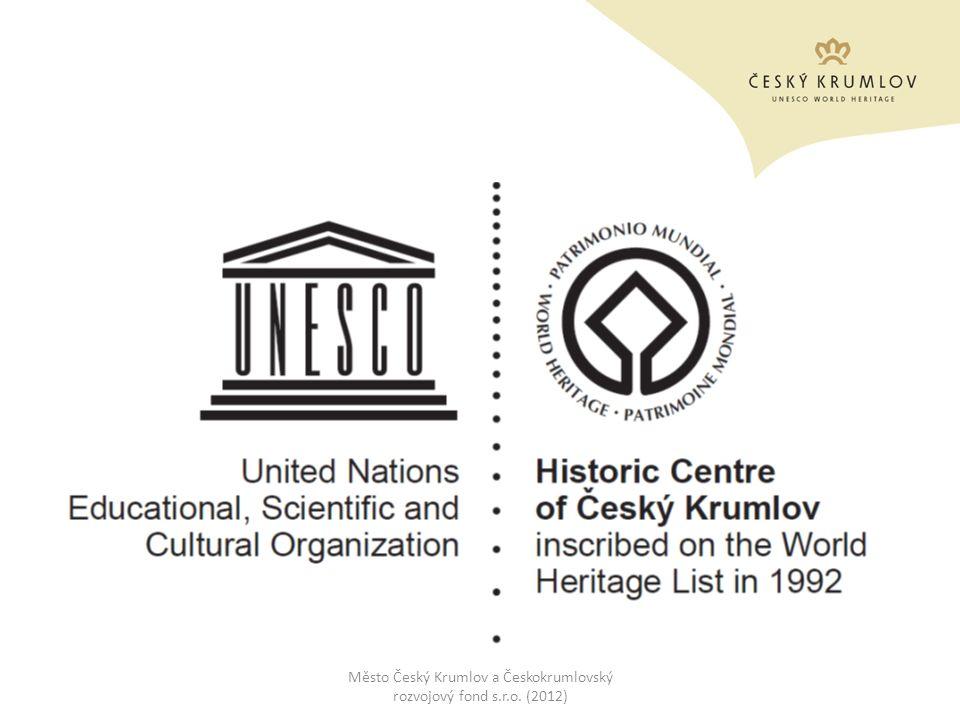 Český Krumlov UNESCO World Heritage am Ende 80er Jahre das historische Zentrum unbewohnbar, teilweise baufällig 4.12.1992 die Eintragung des historischen Zentrum inkl.
