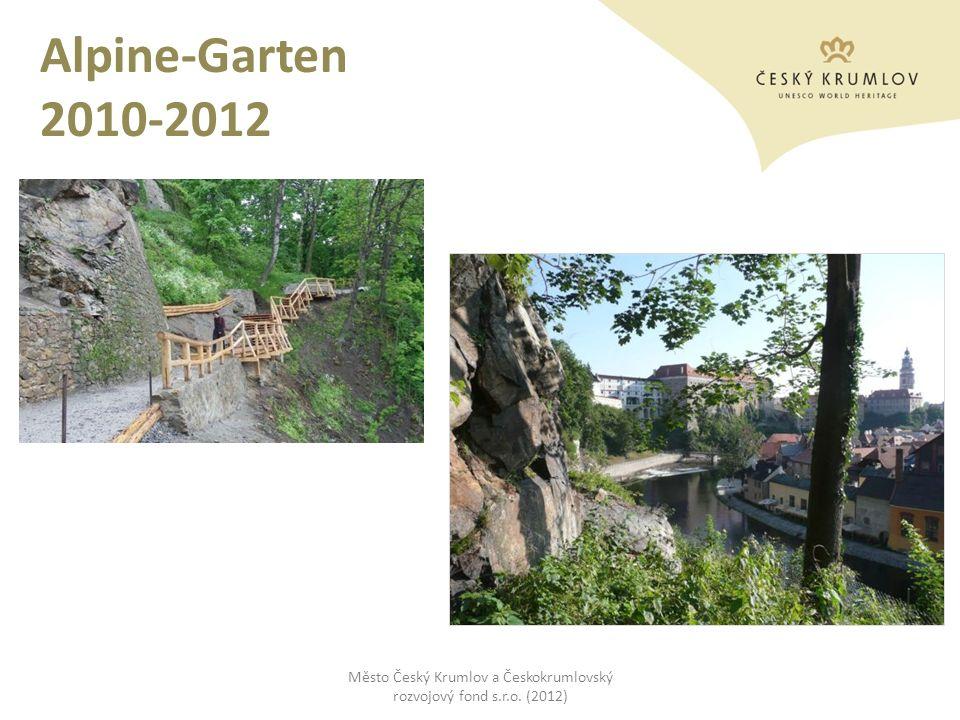 Alpine-Garten 2010-2012 Město Český Krumlov a Českokrumlovský rozvojový fond s.r.o. (2012)
