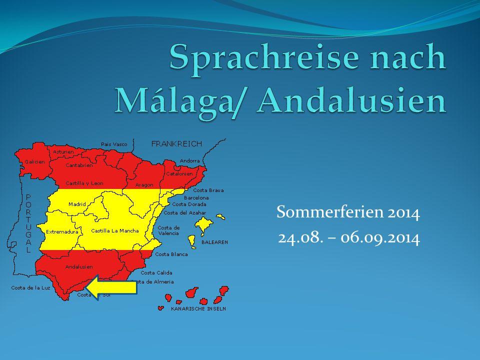 Sommerferien 2014 24.08. – 06.09.2014