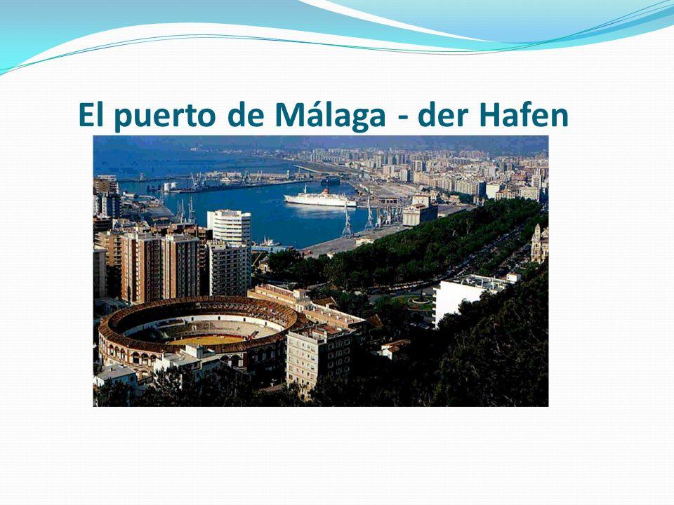 El puerto de Málaga - der Hafen