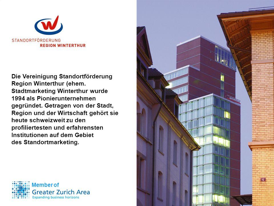 Die Vereinigung Standortförderung Region Winterthur (ehem.