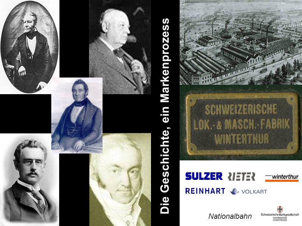 Die Geschichte, ein Markenprozess …winterthur… Nationalbahn