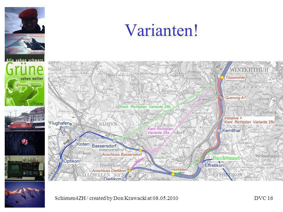Schienen4ZH / created by Don Krawacki at 08.05.2010DVC 16 Varianten!