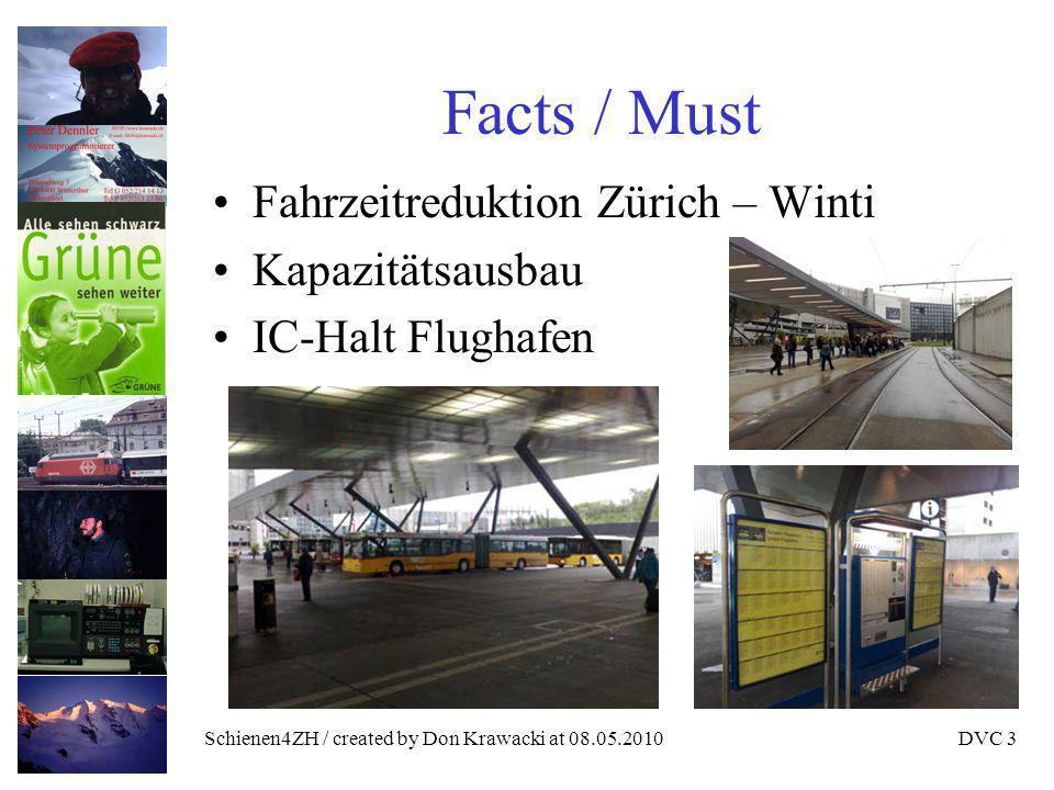 Schienen4ZH / created by Don Krawacki at 08.05.2010DVC 4 Krawackis böse Zunge Schienen4ZH will die Ostschweiz ruhig stellen (jetzt kriegt ihr auch noch was).