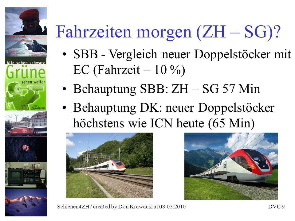 Schienen4ZH / created by Don Krawacki at 08.05.2010DVC 20 Krawackis Empfehlung VCS soll Initiative zurückziehen.