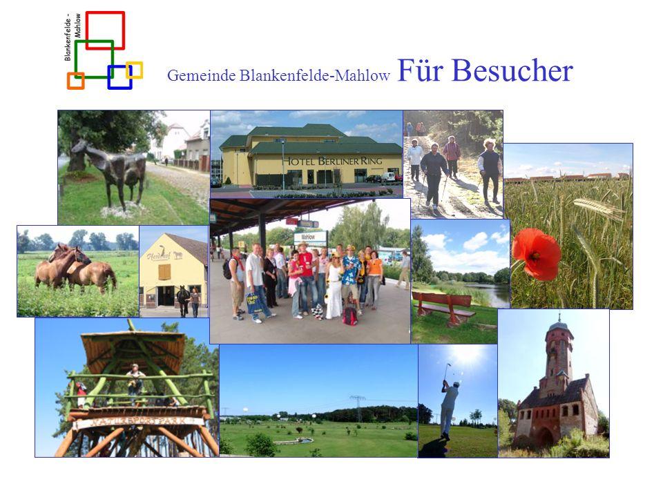 Gemeinde Blankenfelde-Mahlow Für Besucher