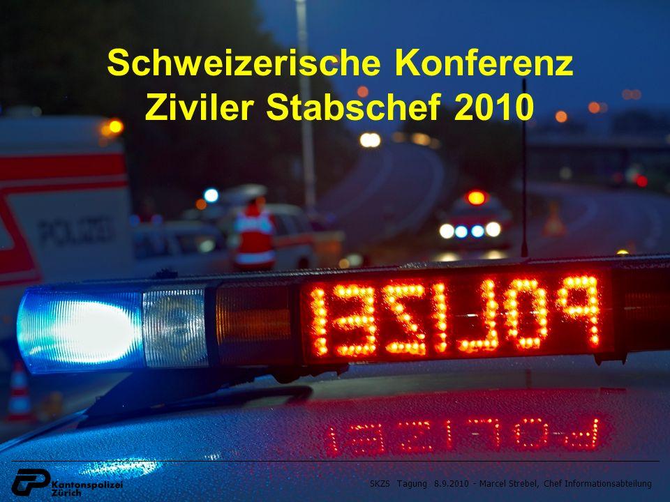 SKZS Tagung 8.9.2010 - Marcel Strebel, Chef Informationsabteilung Schweizerische Konferenz Ziviler Stabschef 2010