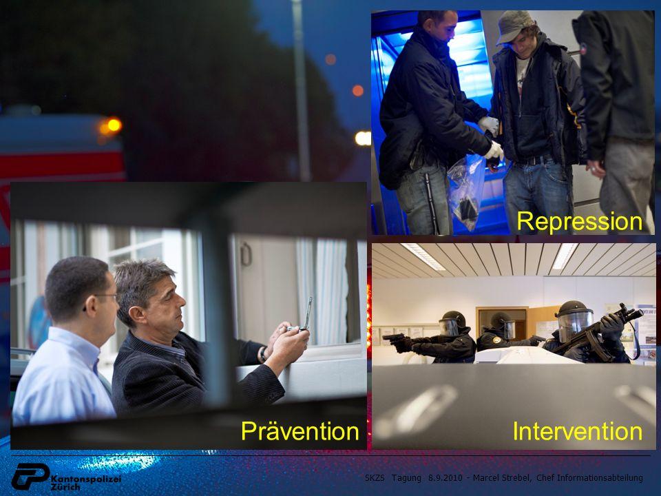 SKZS Tagung 8.9.2010 - Marcel Strebel, Chef Informationsabteilung Repression PräventionIntervention