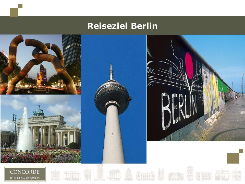 Reiseziel Berlin