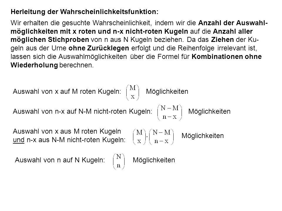 Letzterer Ausdruck gibt aber genau die Taylor-Reihe der Funktion e λ wieder, d.h.