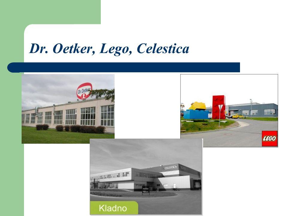 Kladno hat sein Stadtzentrum und seine Neubausiedlungen.