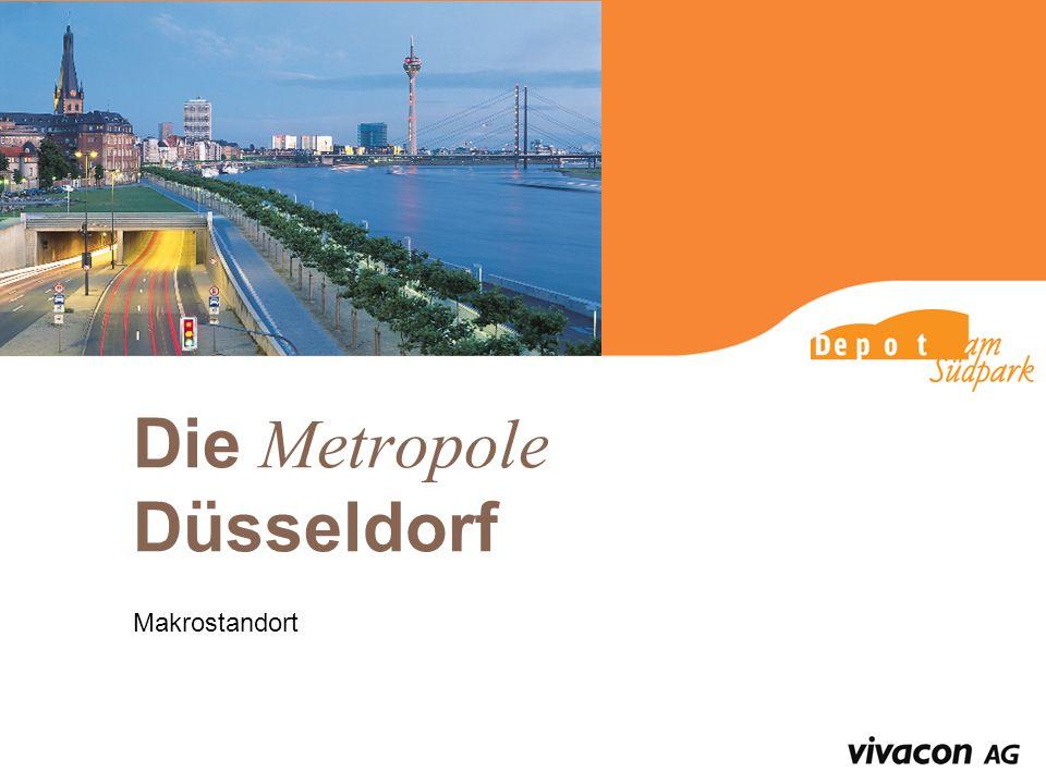 Die Metropole Düsseldorf Makrostandort