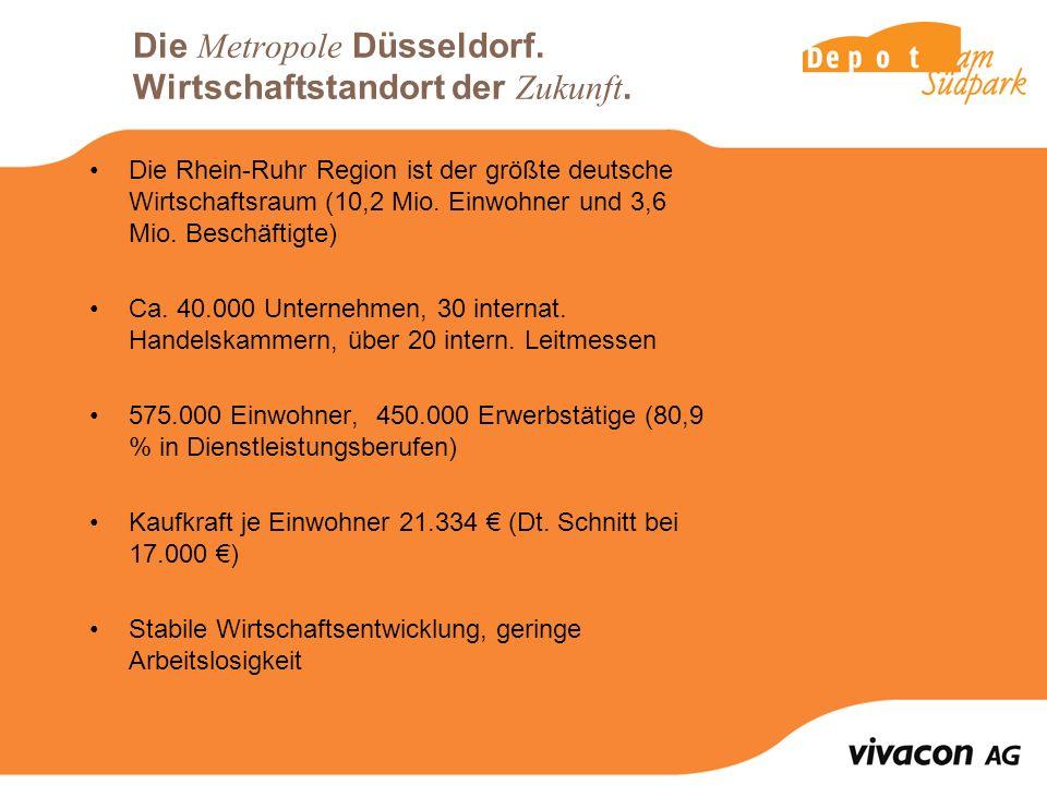Die Metropole Düsseldorf.Wirtschaftstandort der Zukunft.