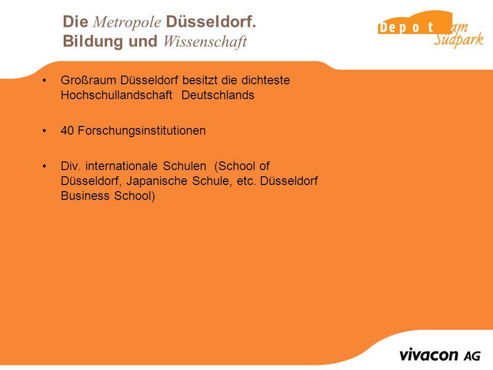 Die Metropole Düsseldorf.