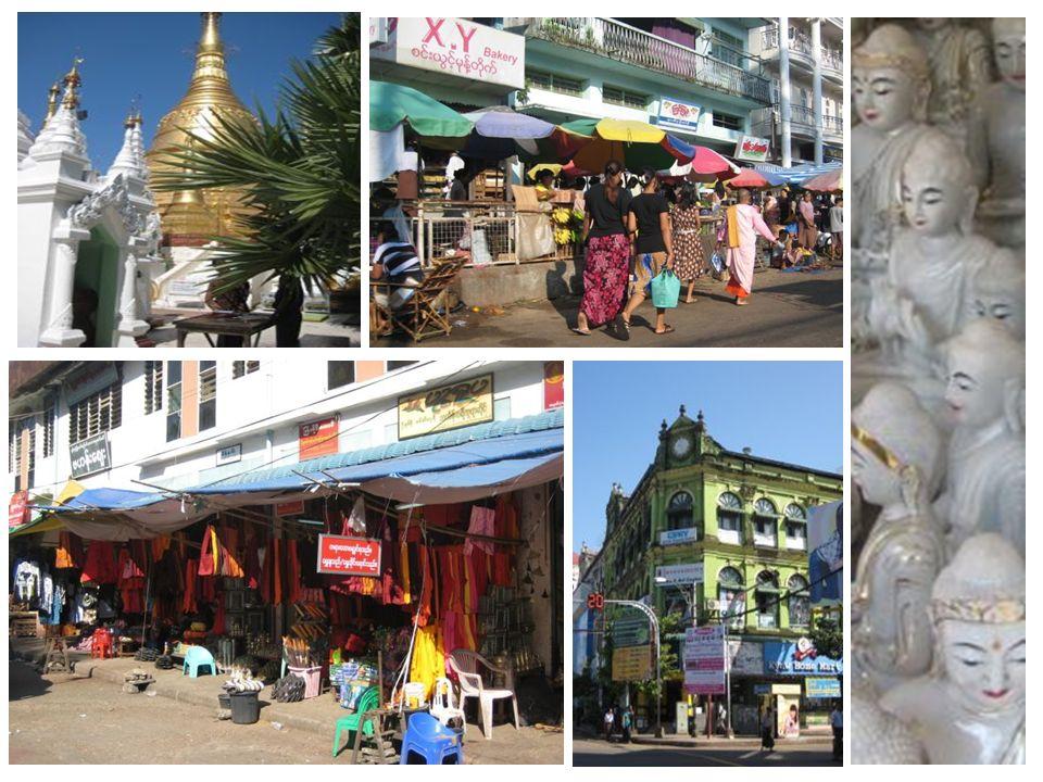 Yangon, Abschied & Ankunft daheim Tag 17 / Tag 18 / Tag 19 Die letzten zwei Nächte in Burma.