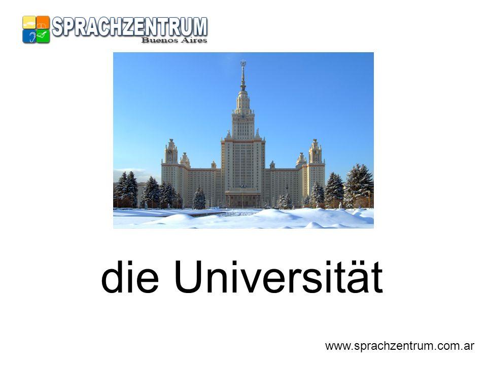 die Universität www.sprachzentrum.com.ar