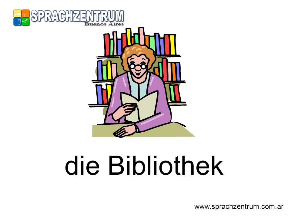 die Bibliothek www.sprachzentrum.com.ar