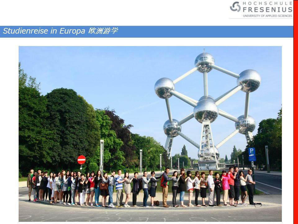 Studienreise in Europa