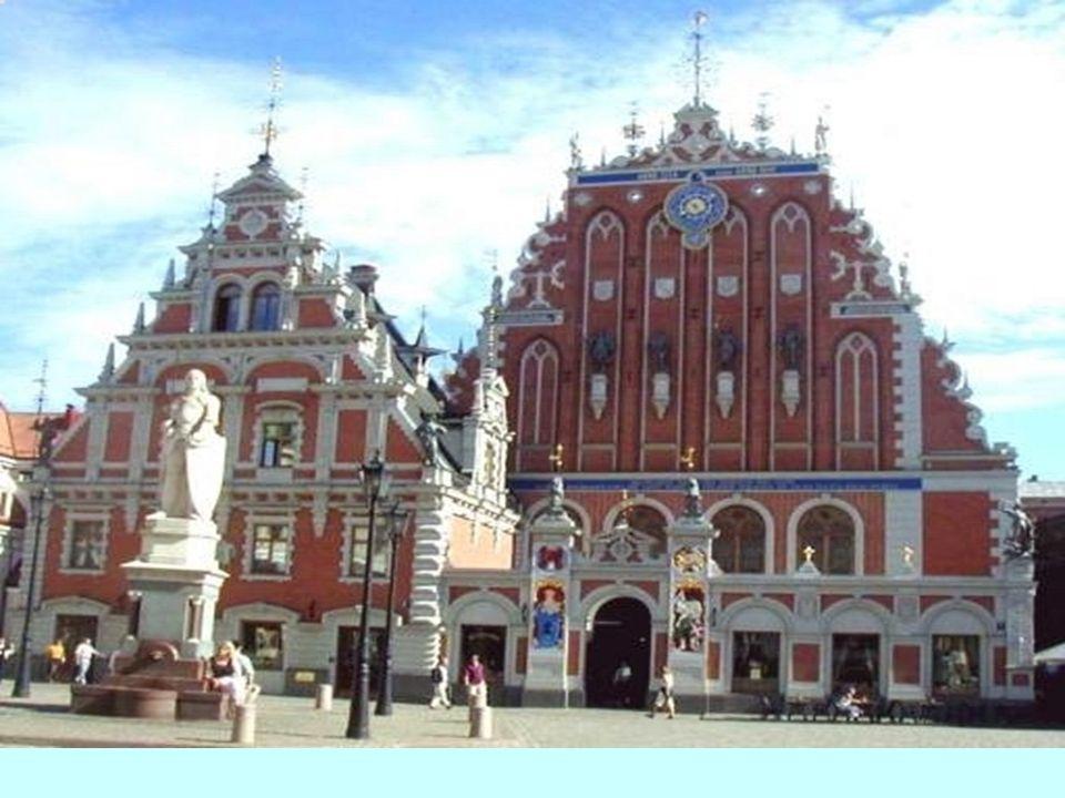 In der Hauptstadt Riga....