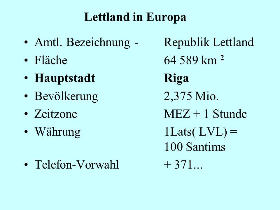 Lettland in Europa