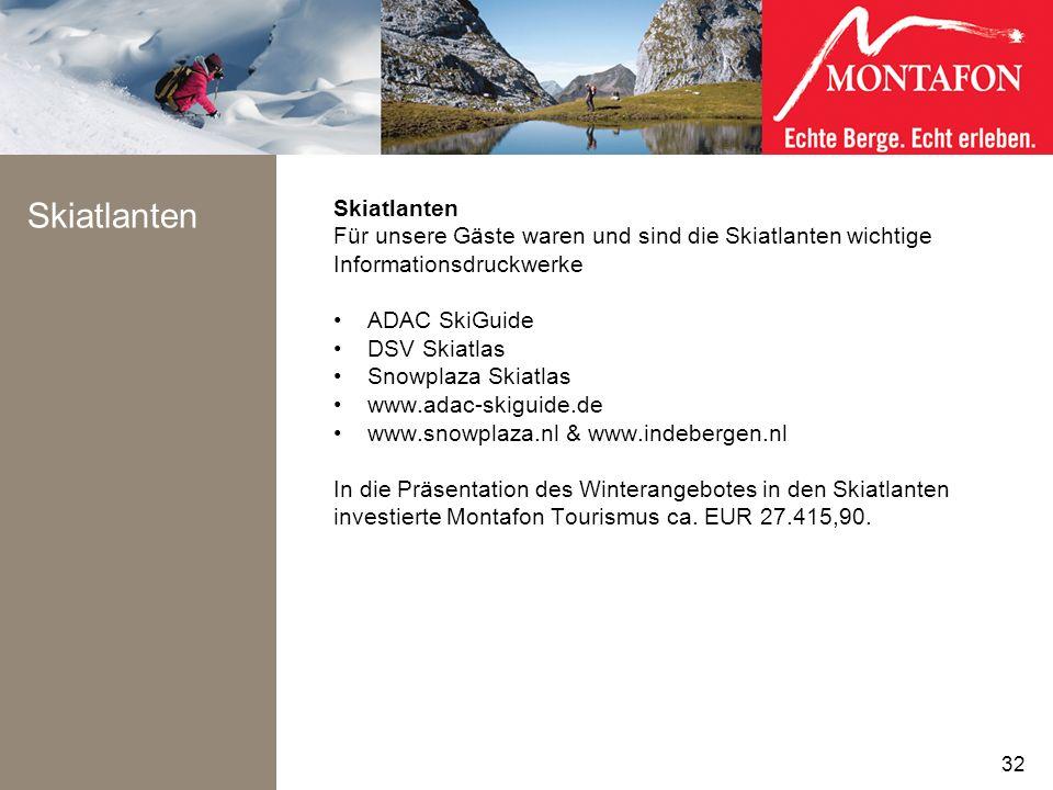 Skiatlanten Für unsere Gäste waren und sind die Skiatlanten wichtige Informationsdruckwerke ADAC SkiGuide DSV Skiatlas Snowplaza Skiatlas www.adac-ski