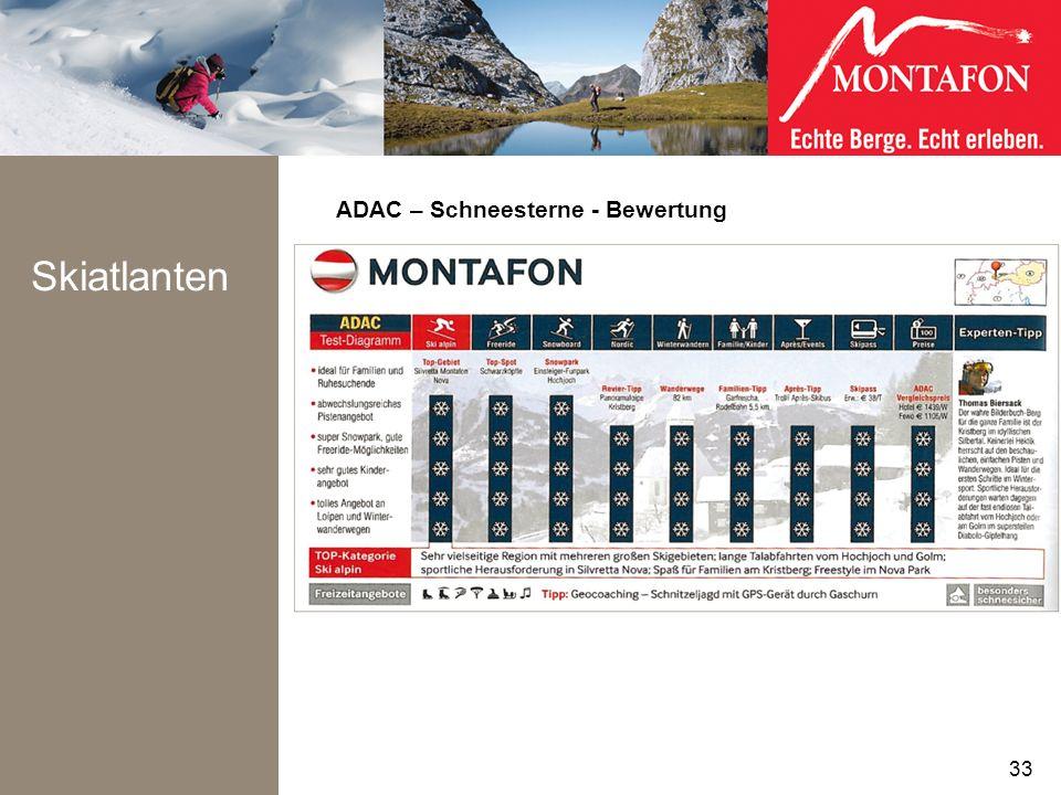 ADAC – Schneesterne - Bewertung Skiatlanten 33