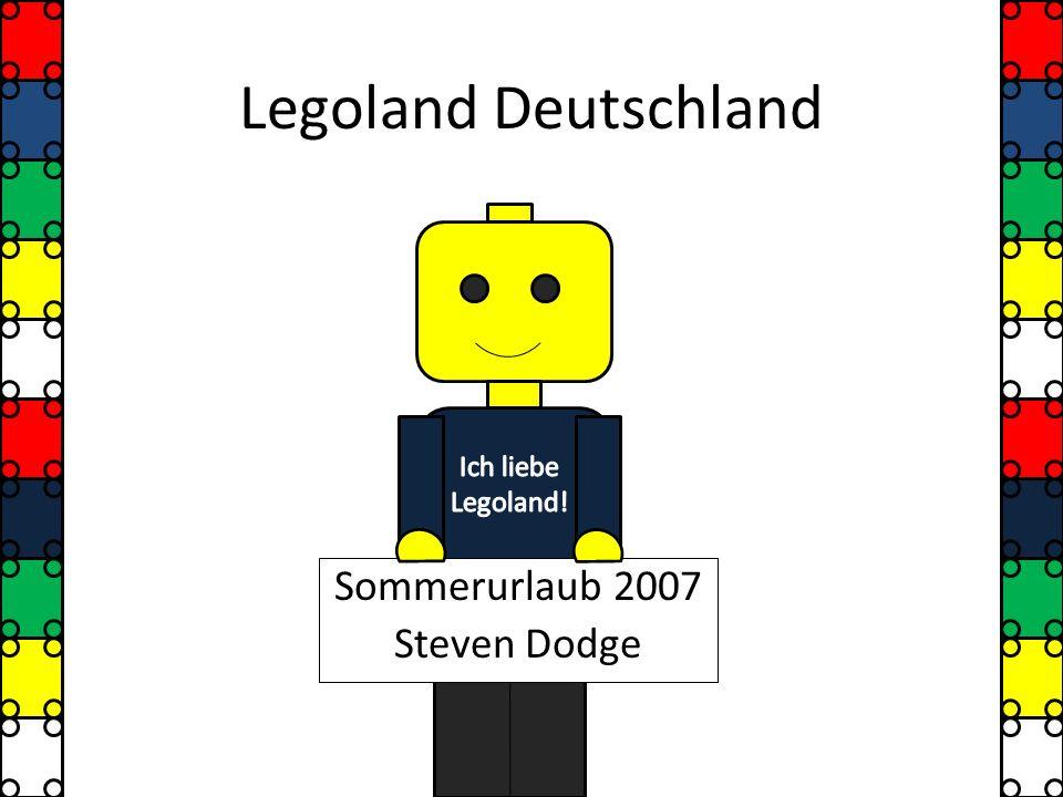 Legoland Deutschland Sommerurlaub 2007 Steven Dodge