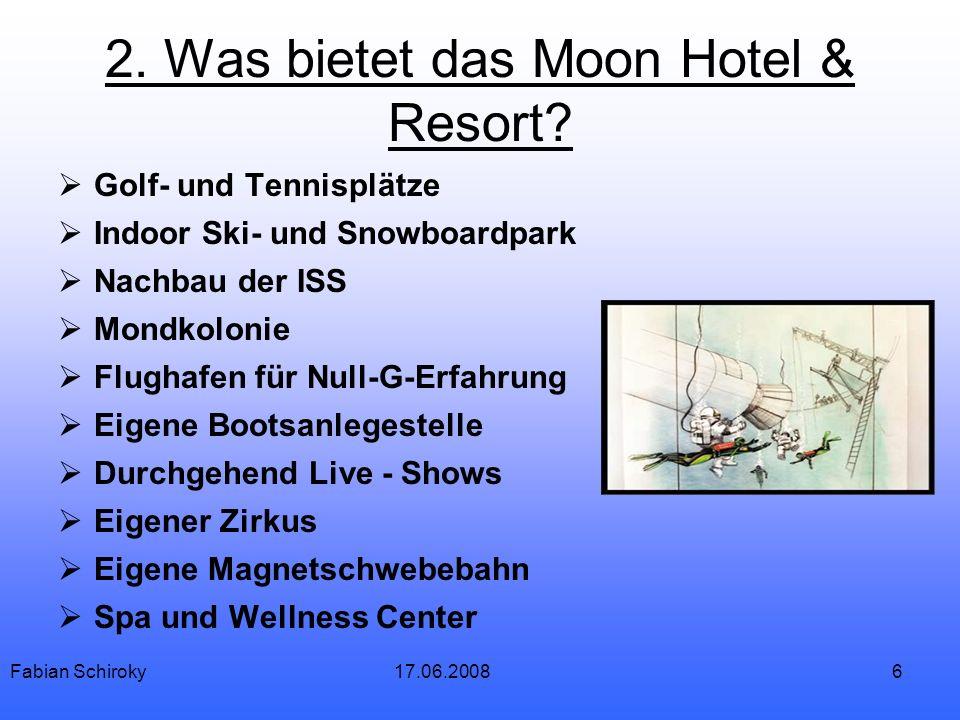 6 2. Was bietet das Moon Hotel & Resort.