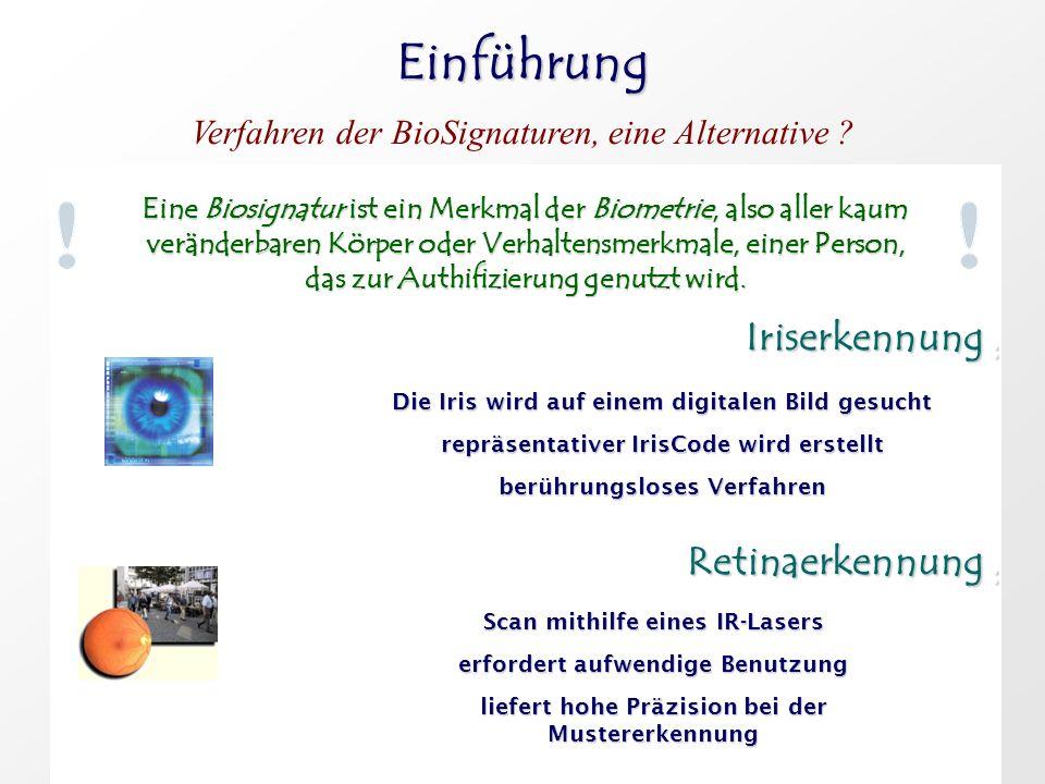 Grundlagen Das menschliche Auge Die Iris.Die Iris.