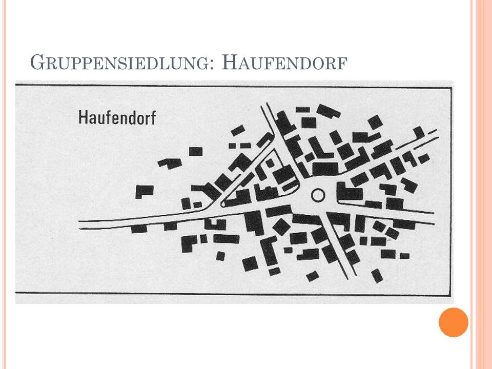 G RUPPENSIEDLUNG : H AUFENDORF
