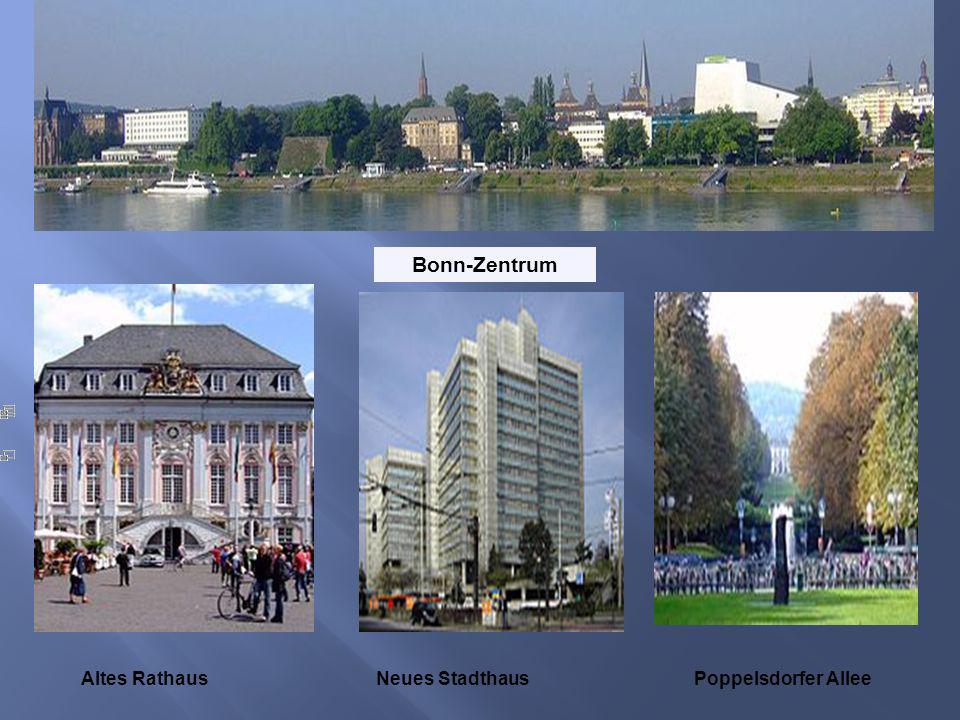 Bonn-Zentrum Altes RathausNeues StadthausPoppelsdorfer Allee