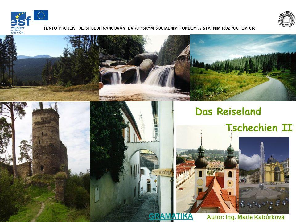 In Südböhmen liegt der Kurort Třeboň.Sehr einladend sind die Altstadt und das Schloss.