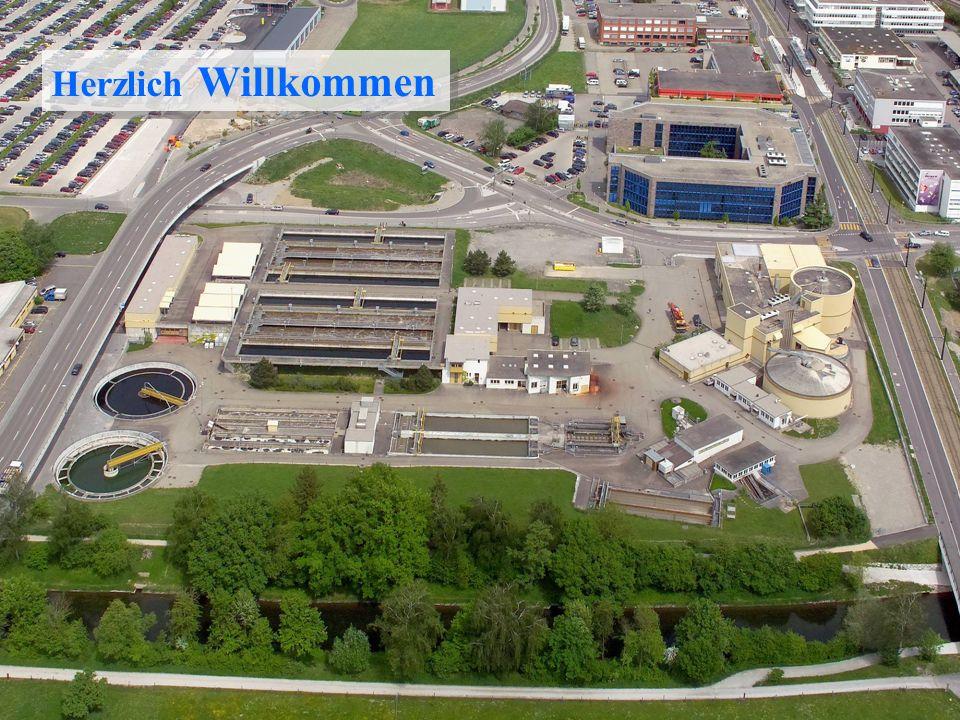 Kläranlageverband Kloten/Opfikon Übersichtsfoto Herzlich Willkommen