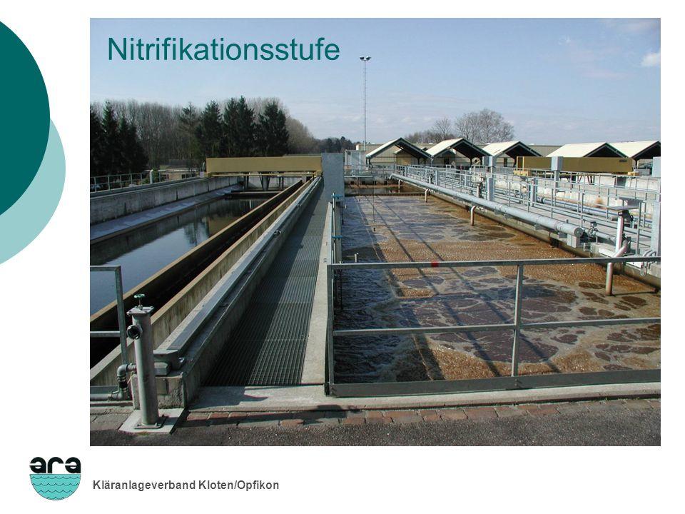Kläranlageverband Kloten/Opfikon Nitrifikationsstufe
