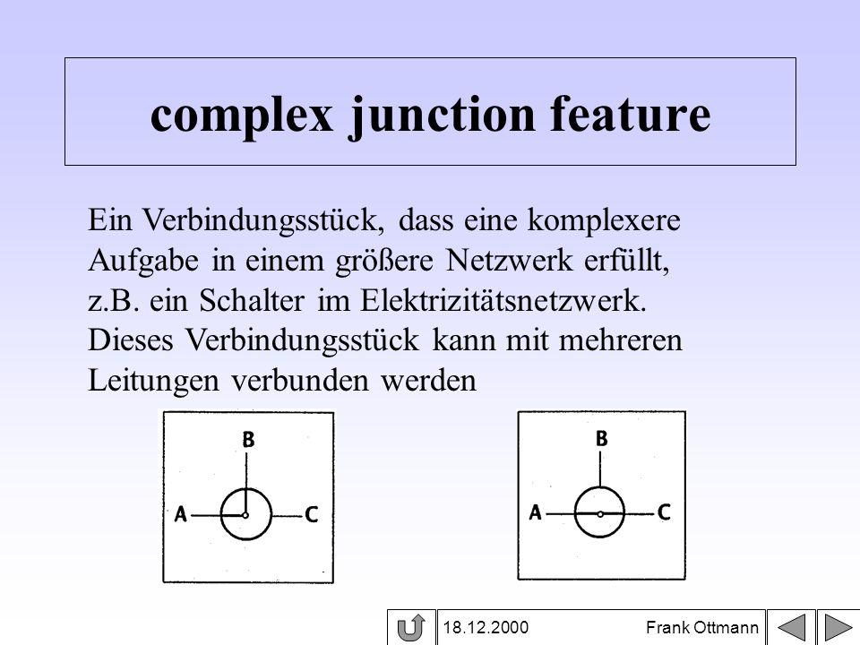 complex junction feature 18.12.2000 Frank Ottmann Ein Verbindungsstück, dass eine komplexere Aufgabe in einem größere Netzwerk erfüllt, z.B. ein Schal