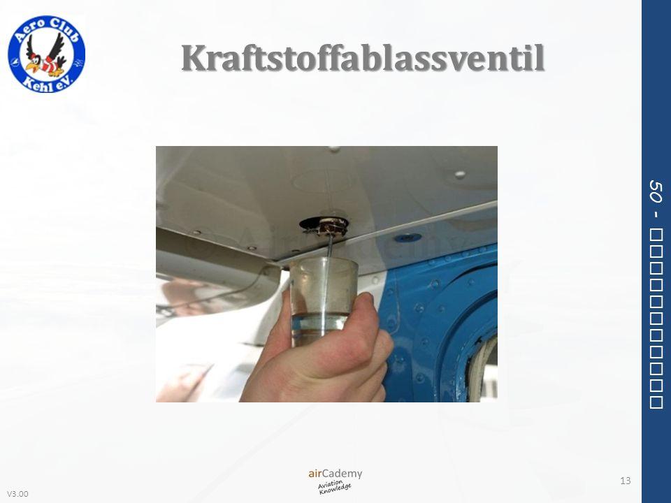 V3.00 50 - Meteorology Kraftstoffablassventil 13