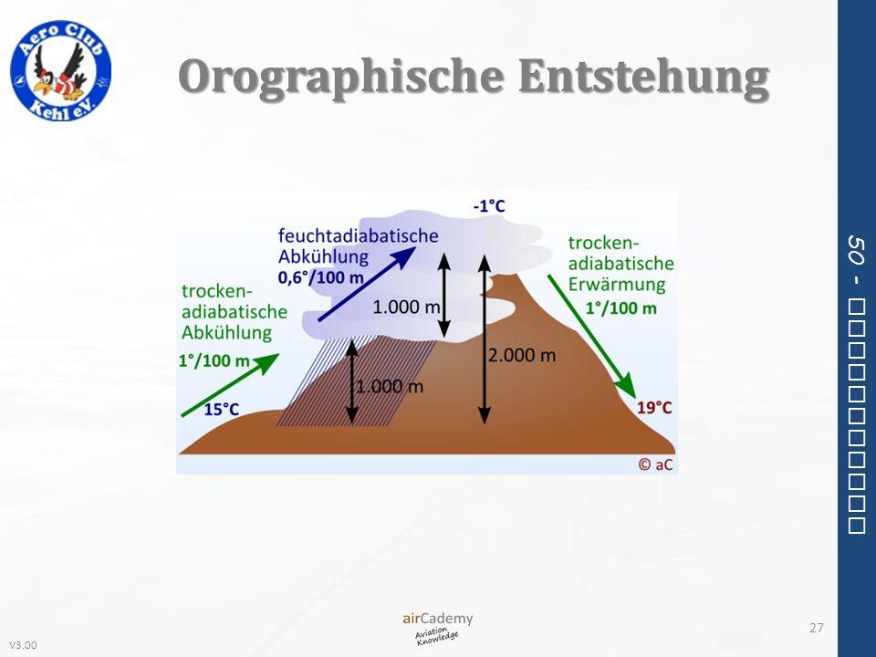 V3.00 50 - Meteorology Orographische Entstehung 27