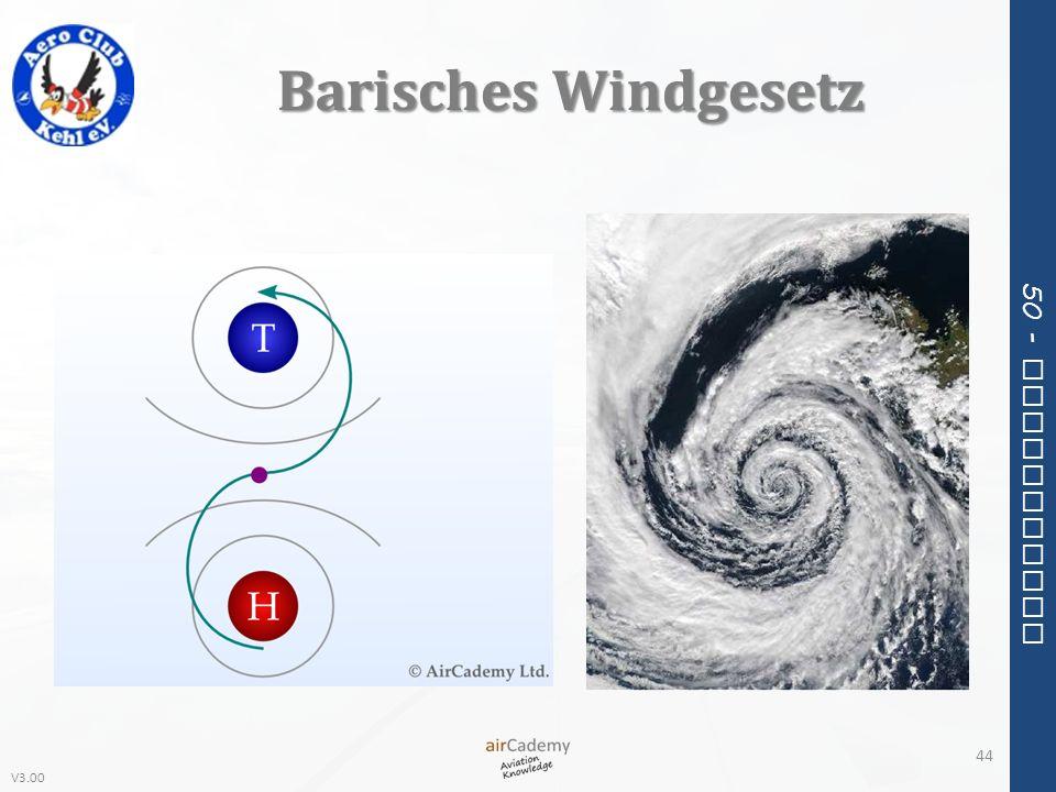 V3.00 50 - Meteorology Barisches Windgesetz 44