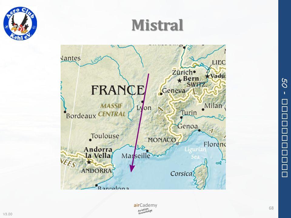 V3.00 50 - Meteorology Mistral 68