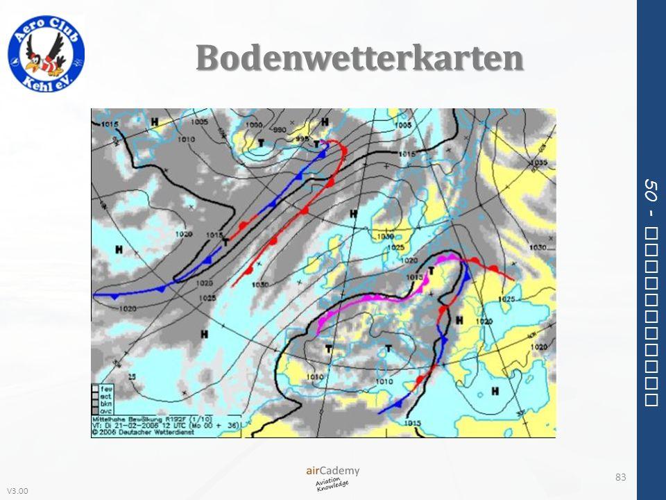 V3.00 50 - Meteorology Bodenwetterkarten 83