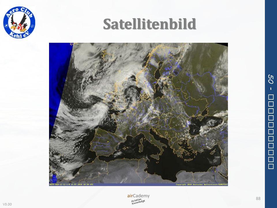 V3.00 50 - Meteorology Satellitenbild 88