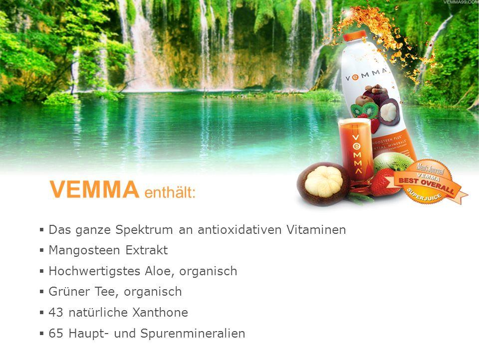 VEMMA erhalten Sie bei VEMMA Geschäftspartner.Das ist ein ganz klarer Vorteil für Sie.