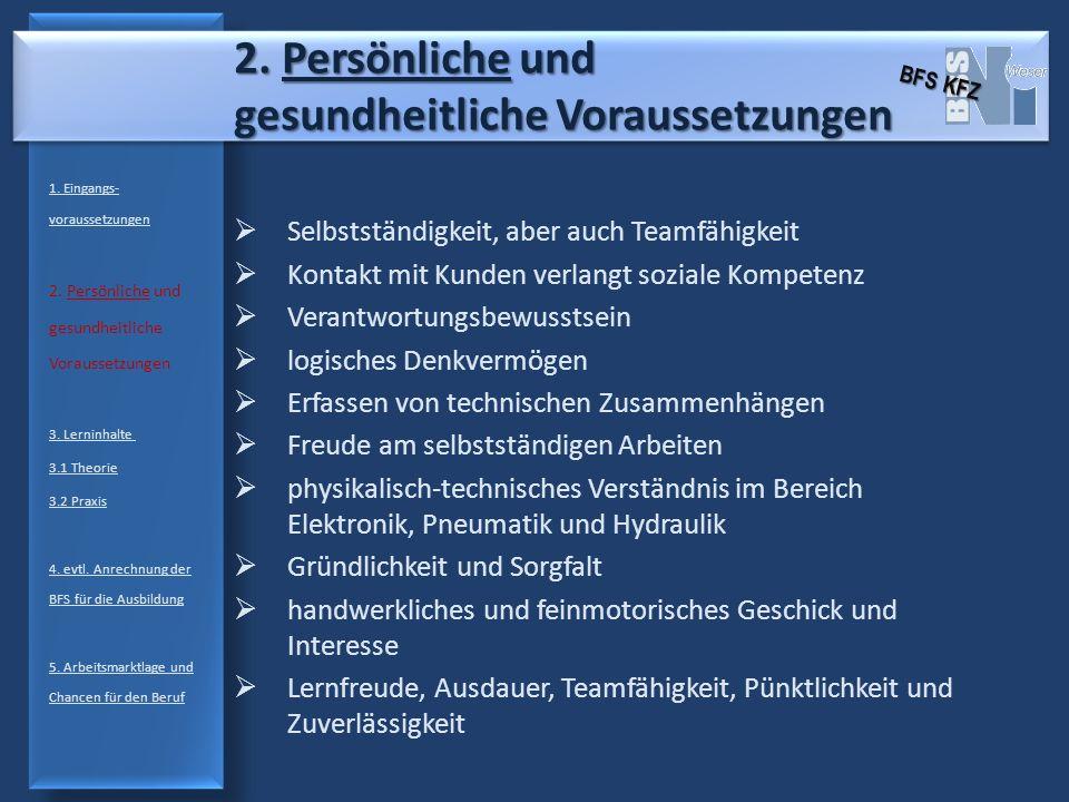 3.2 Praxis Elektrotechnik 1.Eingangs- voraussetzungen 2.
